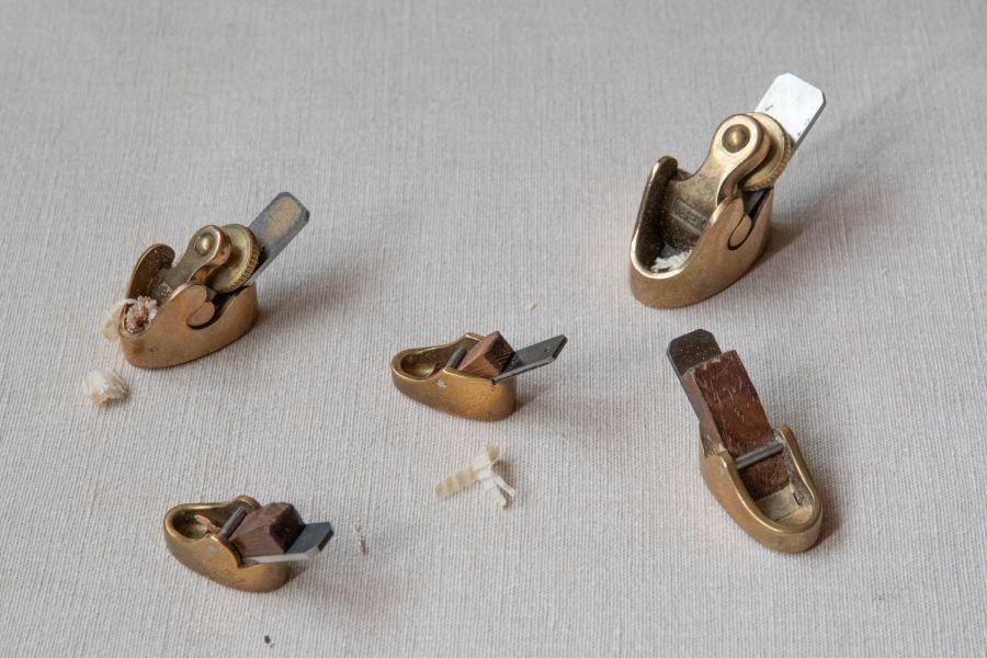 petits rabots de luthier